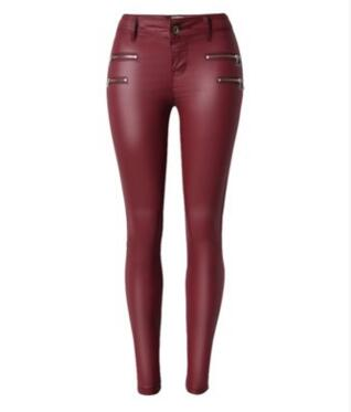 SLEEK-2 VEGAN MID TO HIGH-WAISTED ECO-LEATHER LEGGINGS