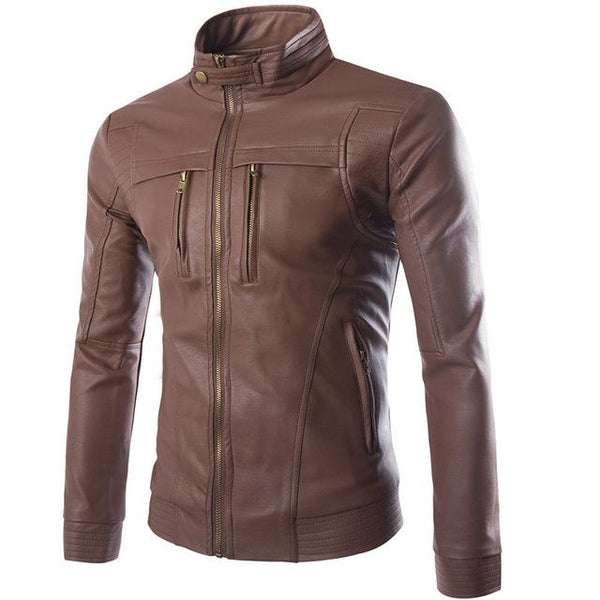 Striven Mens Leather Jacket