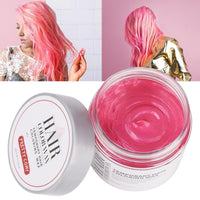 Hair Color Wax Cream Pastel Hairstyles Temporary Hair Dye Gel Mud Paint Mud Colored Creme Silver Coloring Waxs 60ml