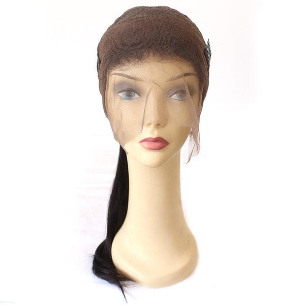 High Quality Natural Hairline 100 Human Hair Lace Wig For Black Women Baby Hair Brazilian Wigs