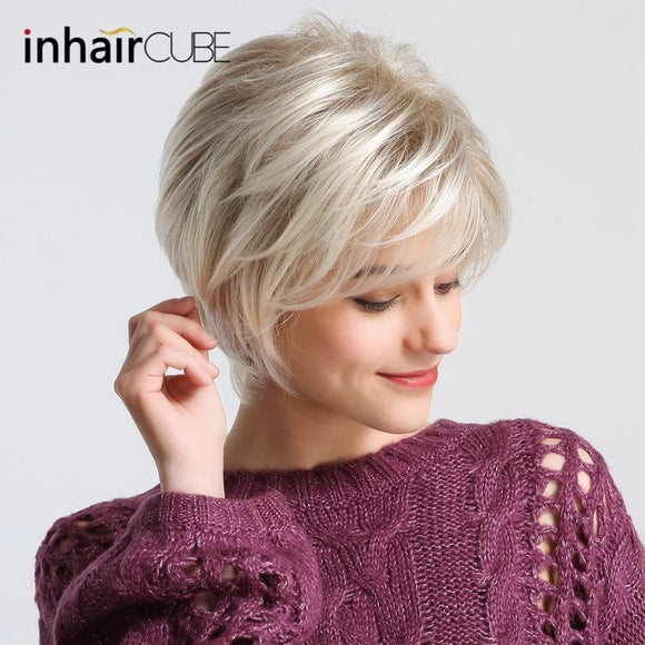 Short Pixie Cut Synthetic Hair Wig 10