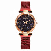 Waterproof Magnetic Luxury Women's Watch