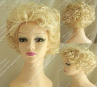 Full hair cosplay wig no lace fluffy wig - briskeys-deals
