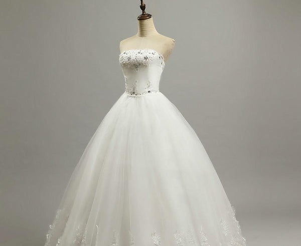 Bride Dress Wedding Dresses Large Bow Wedding Dresses