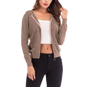 Sexy womens short casual jacket