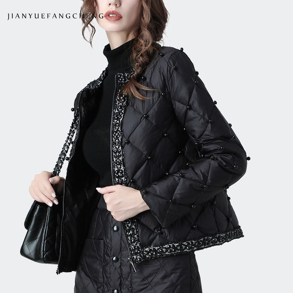 Womens winter jacket warm thickened coat Jacket, Winter Coat, Winter Jackets, Womens, Womens Coat, Womens Department