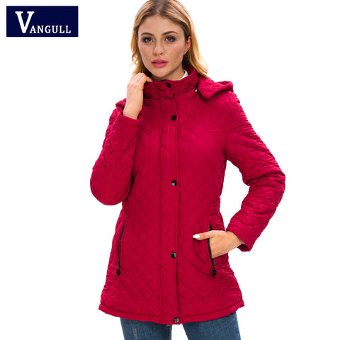 Womens swanky parka jackets velvet & cotton lamb female coats