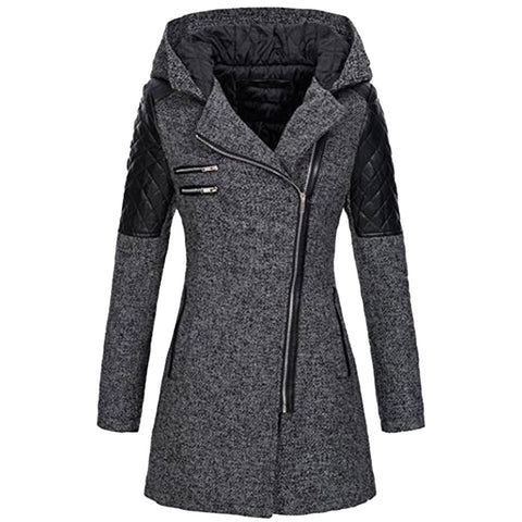Womens plus sized winter coats and jackets thick parka