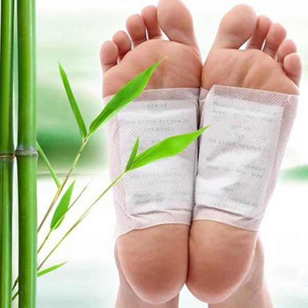 Herbal Ginger Weight Loss Foot Patches Pads Anti-Swelling