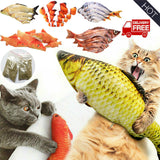 Cat fish toys realistic wagging fish toys for cats