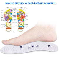 Magnetic Therapy Insoles for Slimming Weight Loss Foot Massage Acupuncture Shoe Sole insert