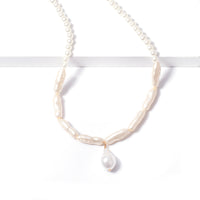 Korean Lovely Imitation pearl Pendant Necklace for Women