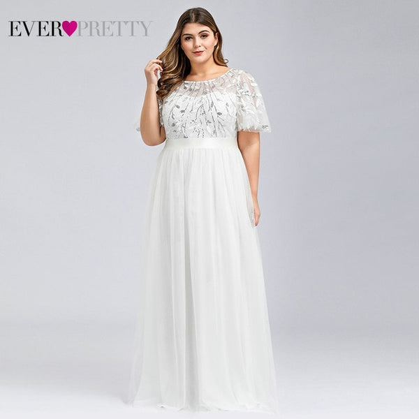 Plus Size Sequined Evening Dresses by Ever Pretty 2020