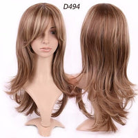 Wigs with full Bangs Natural Hairpieces Wigs