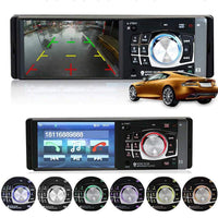 Car Stereo 4.1 inch 1 Din FM Bluetooth 2.0 Support Rear View Camera Car Stereo
