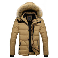 Winter Jacket Men 2018 New Parka Coat M-4XL 5XL 6XL - Briskeys Deals