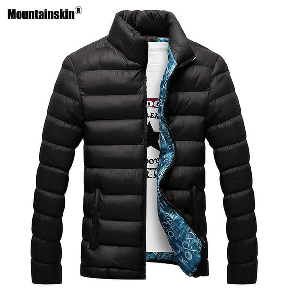 Mountainskin Winter Mens Jacket Thick Parka - Briskeys Deals