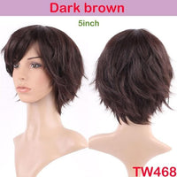 Long Brown Mixed Blonde Two Tone Wigs With Bangs - Briskeys Deals