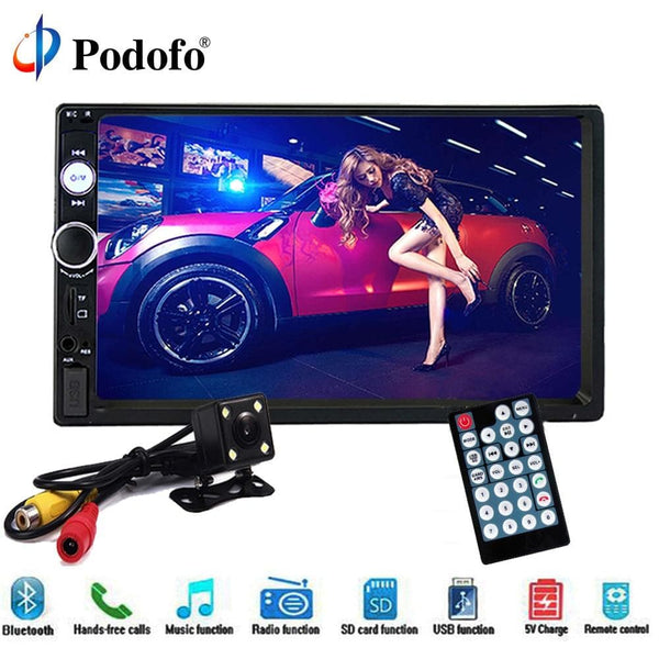 "Car Stereo 7"" HD 2 Din  Bluetooth USB FM Radio MP5 Player - briskeys-deals"