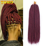 Senegalese Twist Crochet Braid Hair Extensions Extensions, Female, Hair