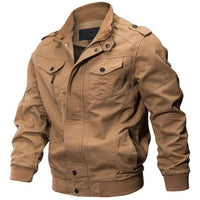 Mens Military bomber jacket tactical outerwear - briskeys-deals