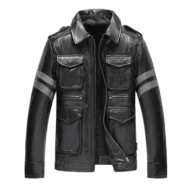 Genunie Leather Jackets For Men Top Quality Cow Leather Genuine Leather Jackets, jackets, mens, Mens Jackets