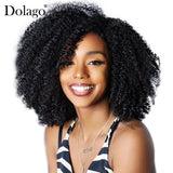 Afro Kinky Curly Clip In Human Hair Extensions Natural Hair