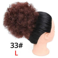 Beautiful Hair Wig Short Afro Puff Kinky Curly Ponytail - briskeys-deals