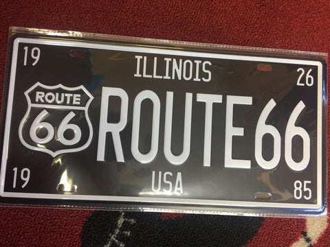 ROUTE 66 Classic sign plate