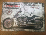 Bike signs   / retro / metal sign 30 x 20 cm Approved