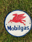 PRESTIGE OIL SIGN GREAT FOR ANY COLLECTOR OR DISPLAY APPROX 8 INCH ROUND