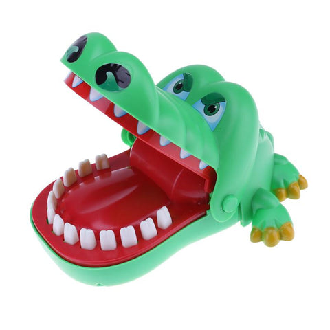 15cm Cute Large Crocodile Mouth Bite Finger Game Funny Toy for Children Kids Crocodile Dentist Bite Baby Cartoon Animal Toy