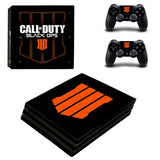 PS4 Pro Skin Sticker For PlayStation 4 Pro Console and Controller PS4 Pro Skins Stickers Decal Vinyl - Call of Duty Black OPS 4