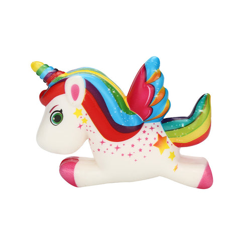 Cute Unicorn Squishy Slow Rising Cartoon Doll Cream Scented Stress Relief Toy