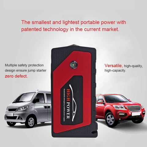 General 12V 89800mah Multi-Function Car Charger Battery Jump Starter 4USB LED Light Auto Emergency Mobile Power Bank Tool Kit