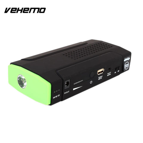 VEHEMO 15V1A USB Power Bank Charger Booster Jump Starter Kit Power Kit Car Car Jump Starter Kit Battery Charger Supplies