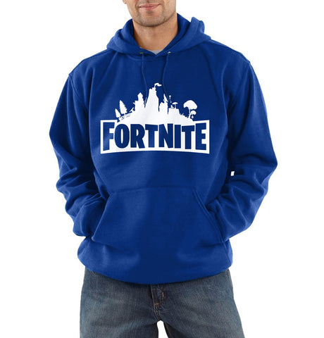 Mens autumn winter hoodies fashion casual loose sweatshirts Fortnite game clothing hoodie men 's homme