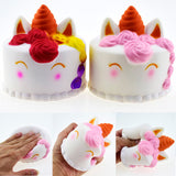 Easykoko Toy Giant Squish Kawaii Scented Super Soft Unicorn Squish Cake Emoji Slow Rising Squishy Antistress Stress Relief Toys