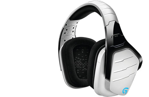 Logitech G933 Artemis Spectrum, PC/Gaming, 7.1 channels, Binaural, Head-band, Black, White, Wired &ampamp Wireless