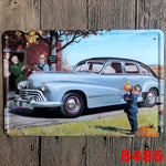 "Vintage Metal Painting ""WV bus"" Tin Signs Wall Painting Art Wall Stickers Crafts Cafe Bar Bar Home Decoration 20x30 CM"