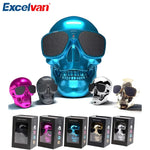 Excelvan Skull Shape Wireless Protable Bluetooth Speaker With Nfc Built-in Battery 4000Mah Support TF Care U disk Radio Function