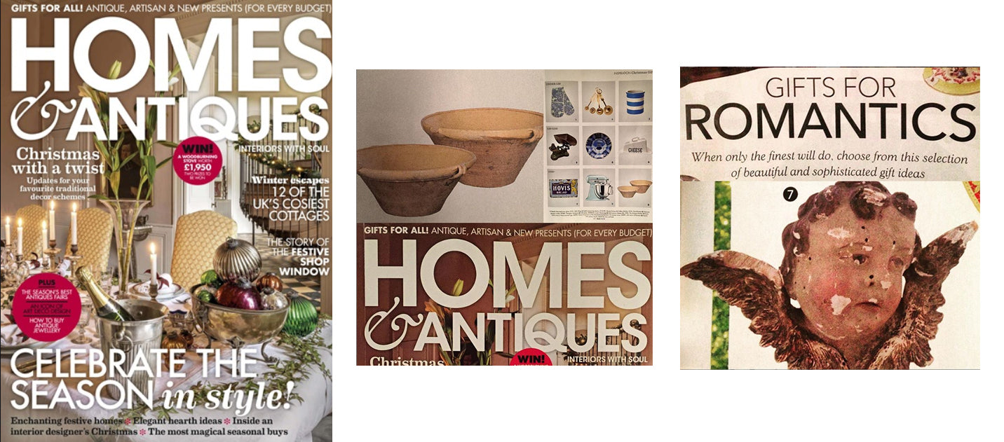 Homes & Antiques, December 2018, AD & PS Antiques