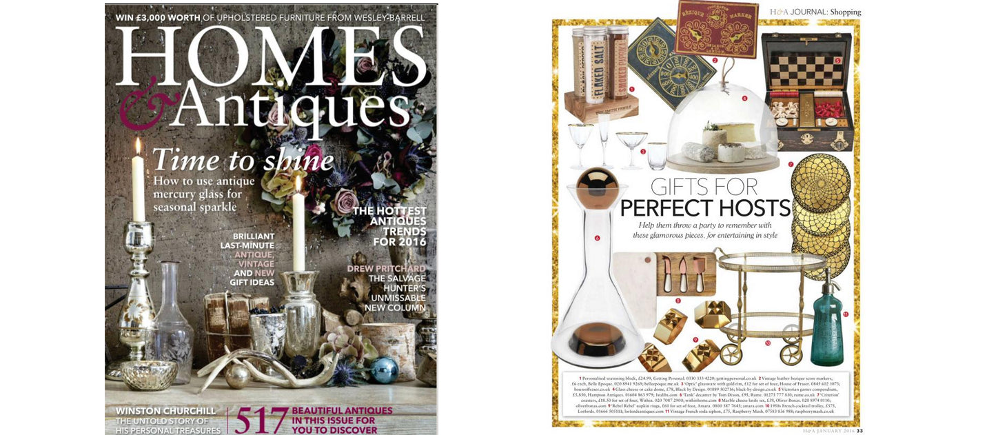 Home & Antiques, January 2016