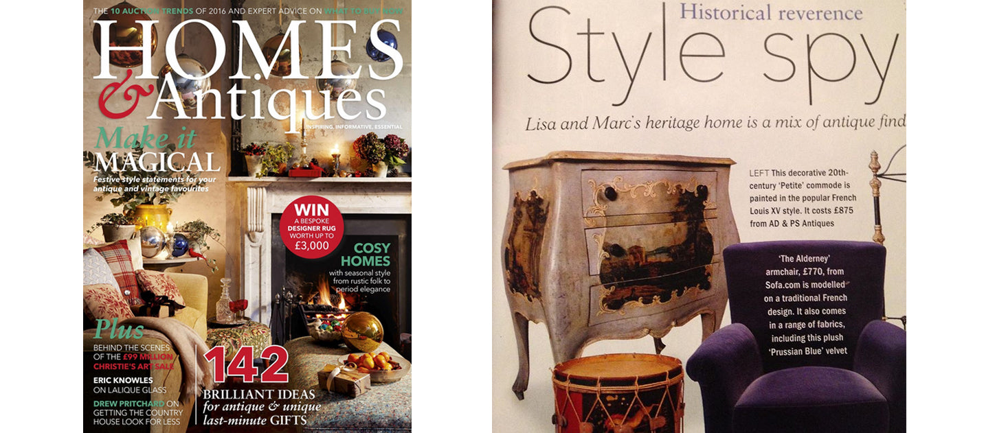 Homes & Interiors January 2017, AD & PS Antiques
