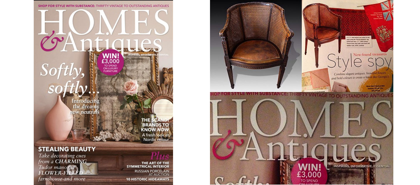 Homes & Antiques March 2018, AD & PS Antiques