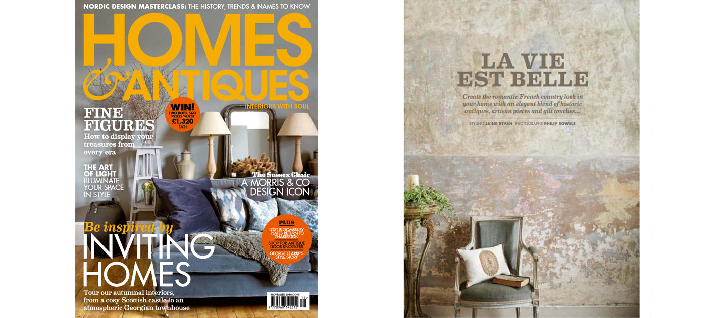Homes & Antiques, November 2018 AD & PS Antiques