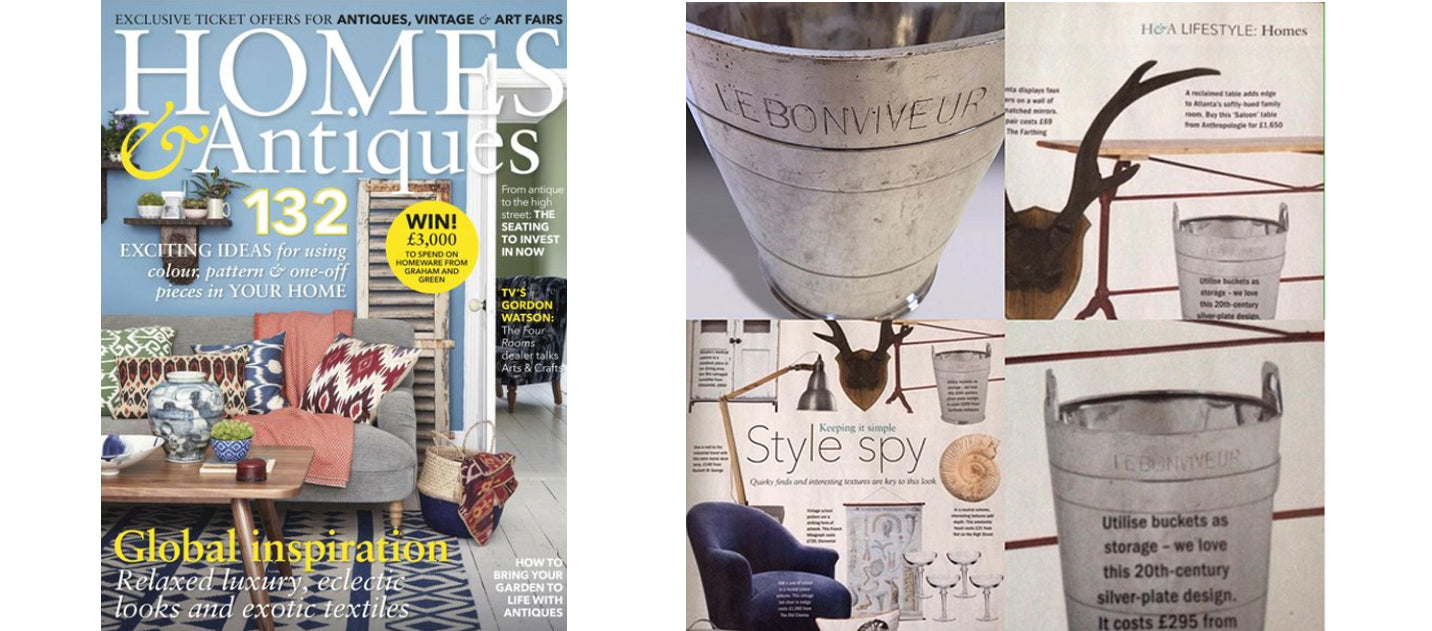 Homes & Antiques, September 2016 AD & PS Antiques