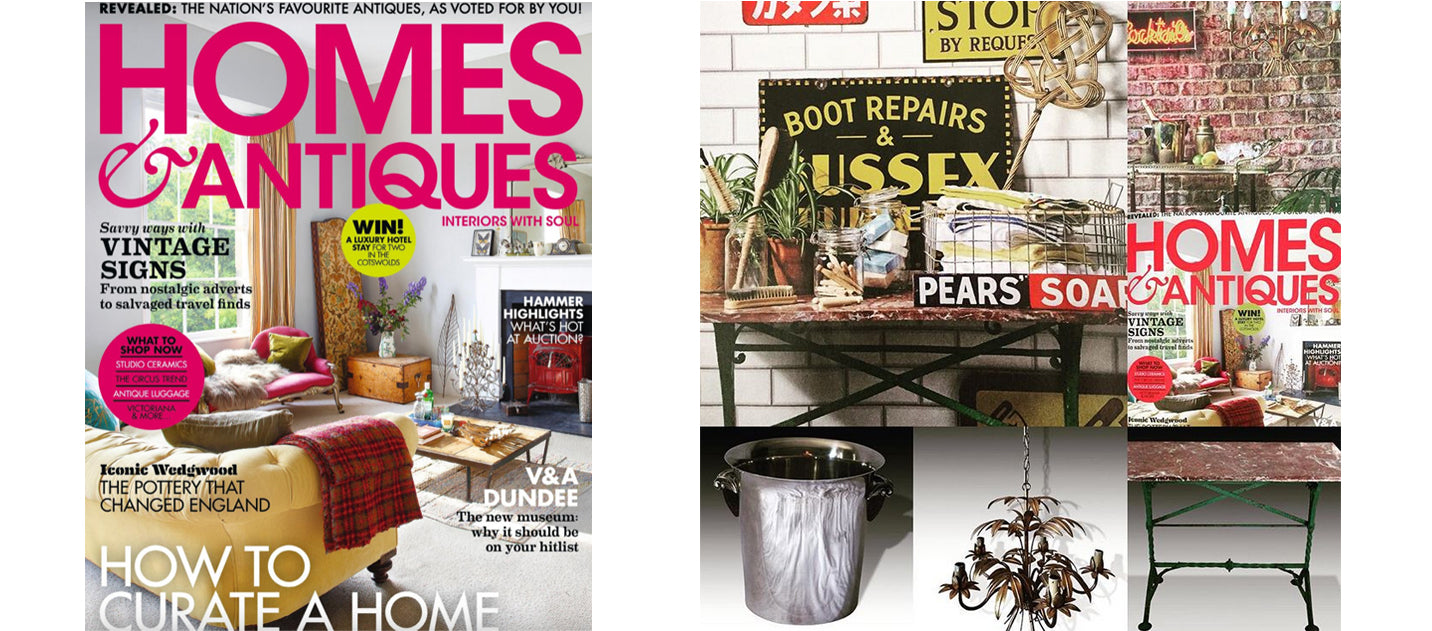Homes & Antiques September 2018 AD & PS Antiques