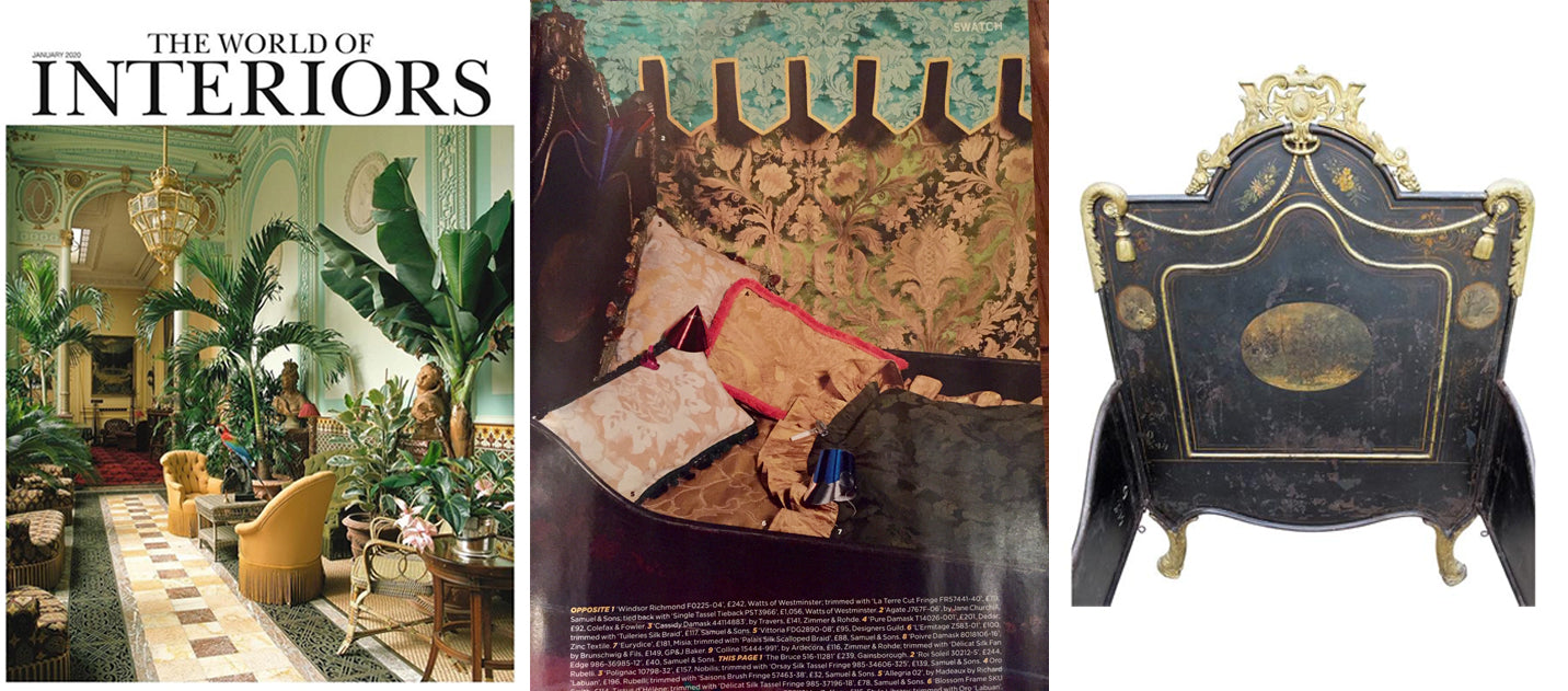 The World of Interiors, January 2020, AD & PS Antiques