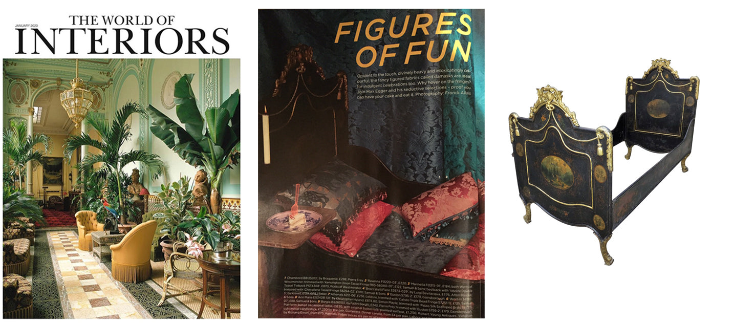 The World of Interiors January 2020, AD & PS Antiques
